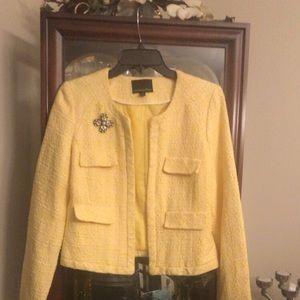 Cynthia Rocket Yellow jacket w/pin